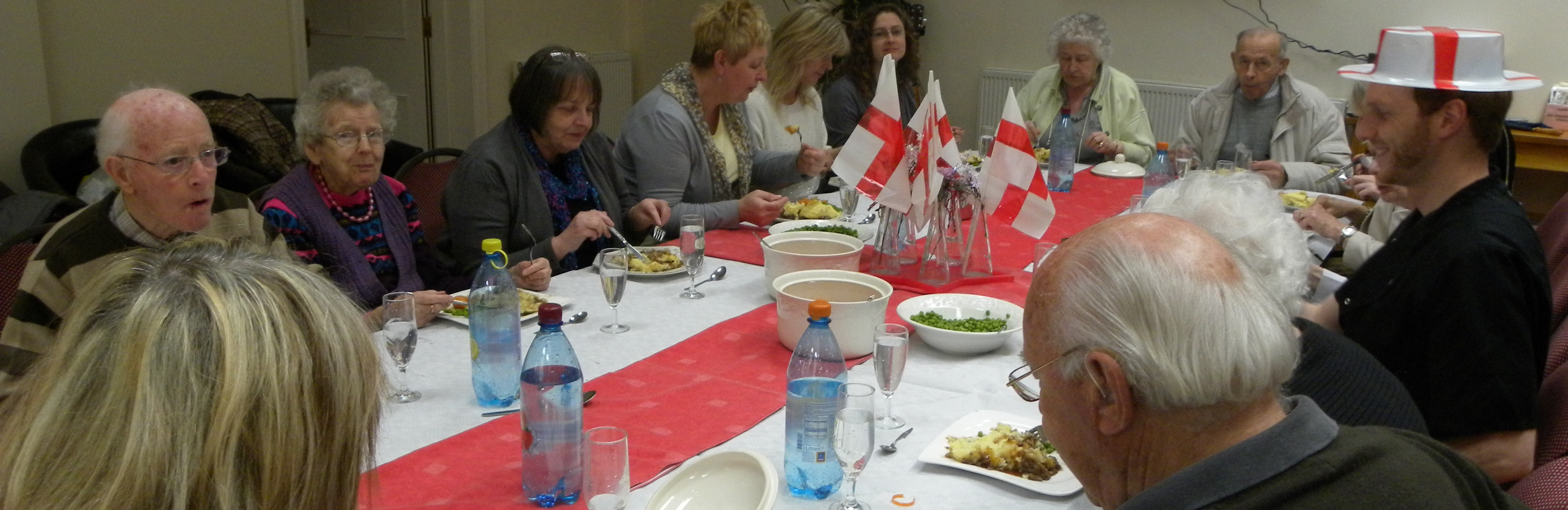 St George's Day Meal