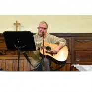 Local poet and songwriter at the Tuesday Afternoon Fellowship