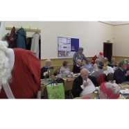 Christmas fair and Christmas dinner